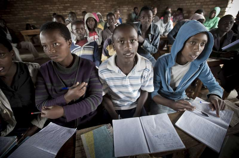 What School is Like in a Refugee Camp